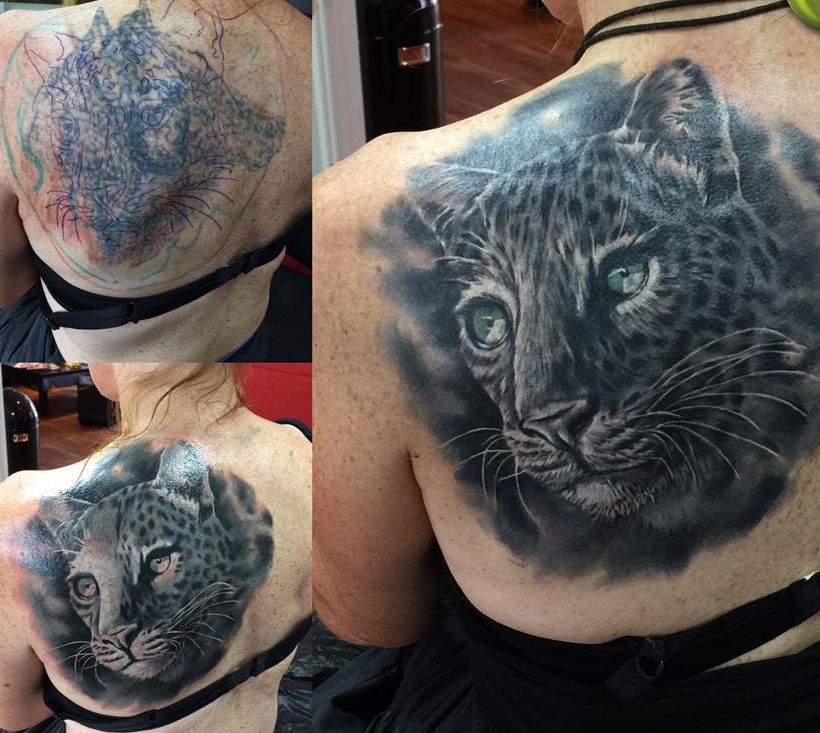 Cover Up - Tattoo Anansi