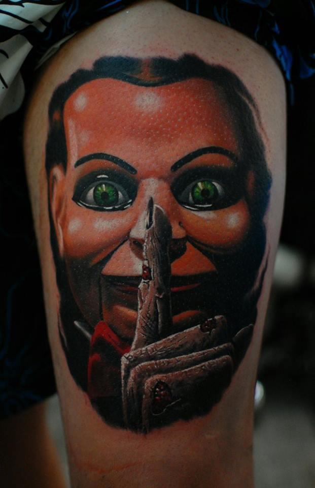 scary creepy tattoo horror film movie amazing Marci Artist Künstler Tätowierer best bester bestes top