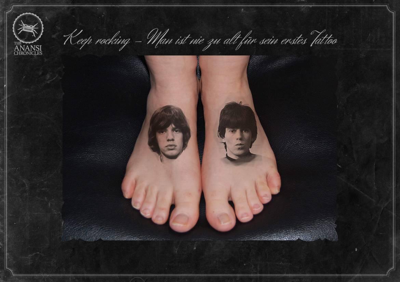Keep rocking – Man ist nie zu alt für sein erstes Tattoo