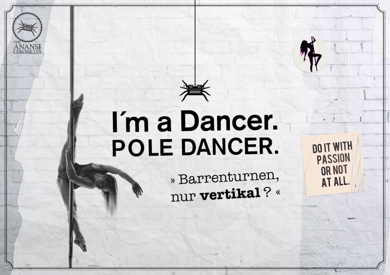 Pole Dance – »Barrenturnen,  nur vertikal ?«