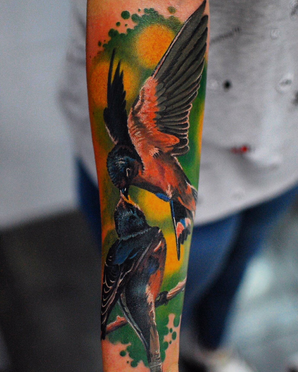 amazing color tattoo bestes shop münchen minga top tätowierer