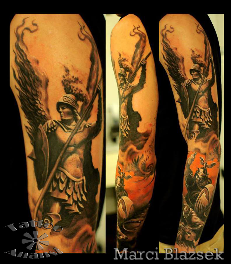 amazing figther tattoo greece best bester bestes shop anansi münchen