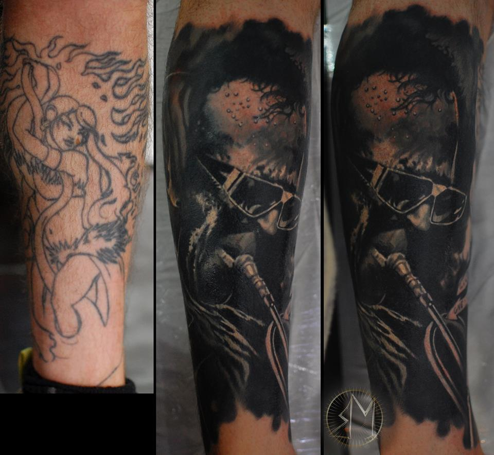 Narben cover up tattoo spezialist