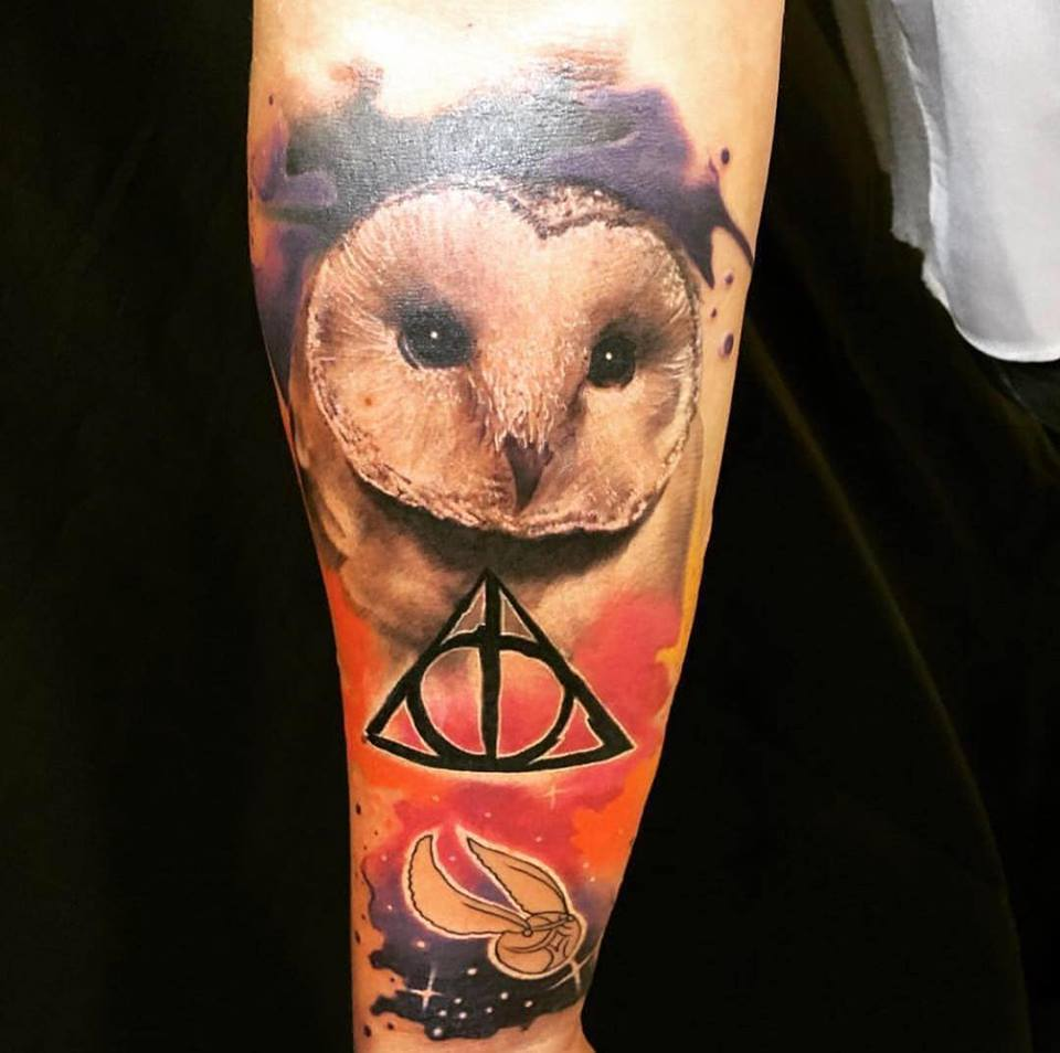 Ritchey und sein Realistic / Aquarell Tattoos