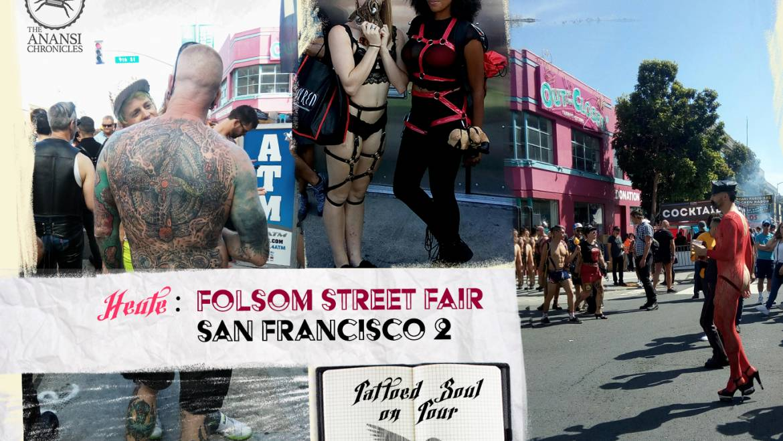 Tattoed Soul on tour: Folsom Street Fair 2018 – San Francisco 2