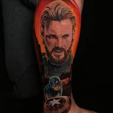Captain America Projekt / erste Etappe