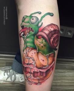newschool tattoo anansi münchen lena