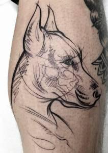 tattoo studio münchen munich minga anansi tätowierung art artist tätowierer best beste brigi disney tiere schön 2