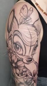 tattoo studio münchen munich minga anansi tätowierung art artist tätowierer best beste brigi disney tiere schön 3