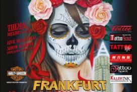 Tattoo Anansi at 27th international Frankfurt Tattoo Convention 2019
