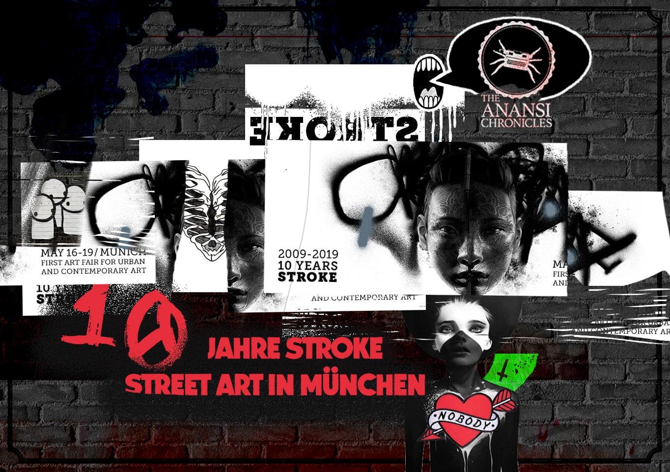 10 Jahre Stroke in München – urban and contemporary art