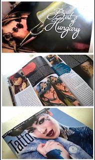 tattoo magazin budapest artikel - Brigi Tattoo Anansi München Arist