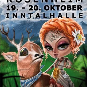 Tattoo Tage Rosenheim  19-20 Oktober 2019  Csaba und Joe dabei!!