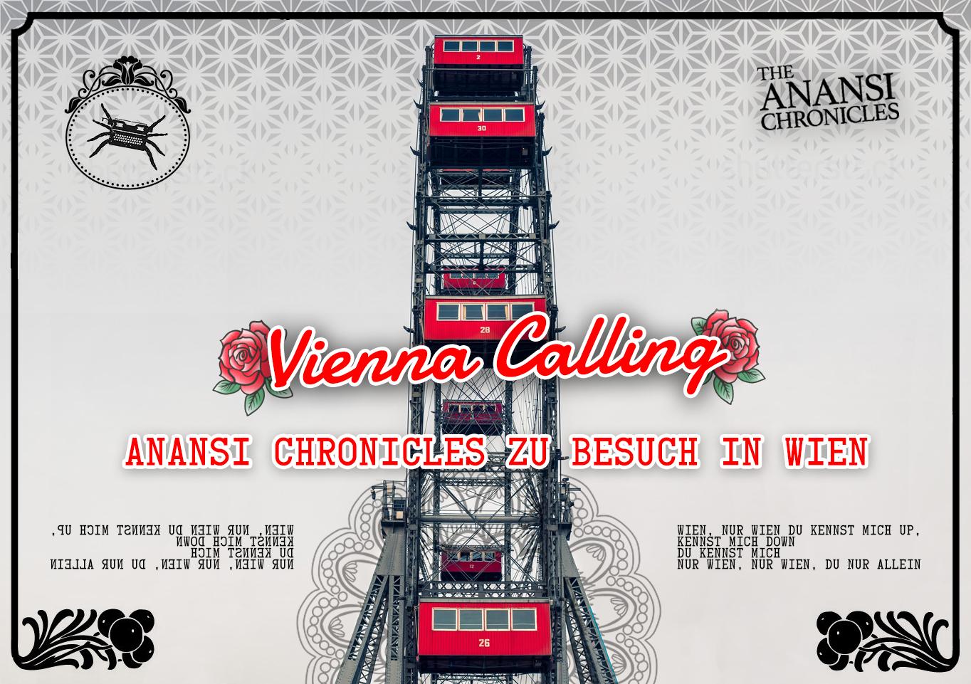 Anansi Chronicles zu Besuch in Wien