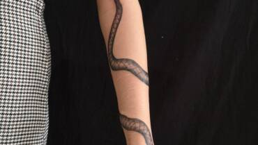 Schlangen als Motiv