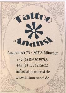 Tattoo Studio Anansi München Gutschein