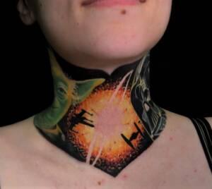 Tattoos hals 40 kleine