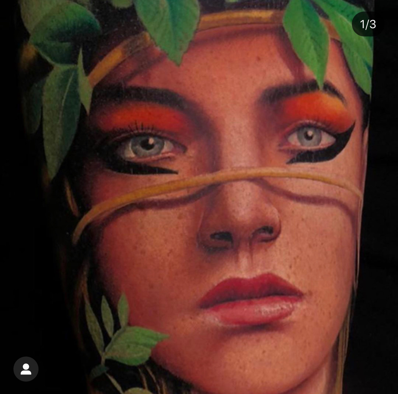 woman as part of a tattoo sleeve joe tattoo anansi münchen munich artist best bester bestes tätowierer