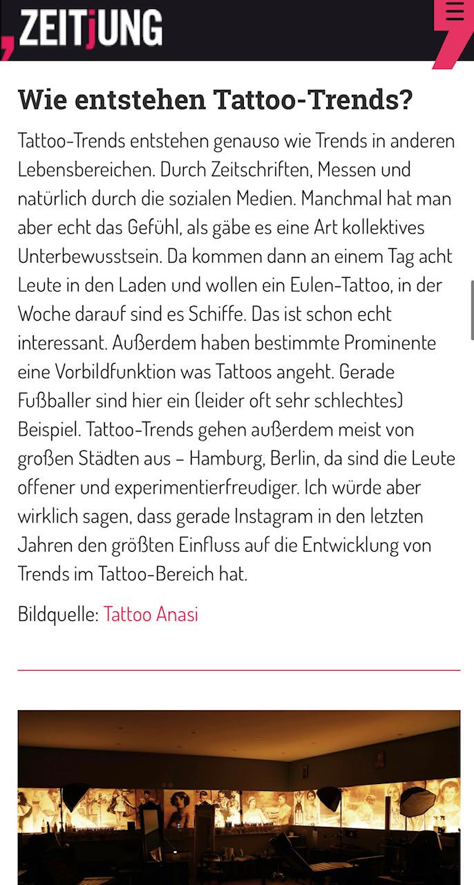 zeitjung artikel 2019 oktober münchen tattoo anansi tattoo trends paul