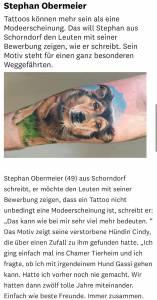 tattoo anansi mittelbayerische münchen cham dog geschichte hinter dem tattoo3