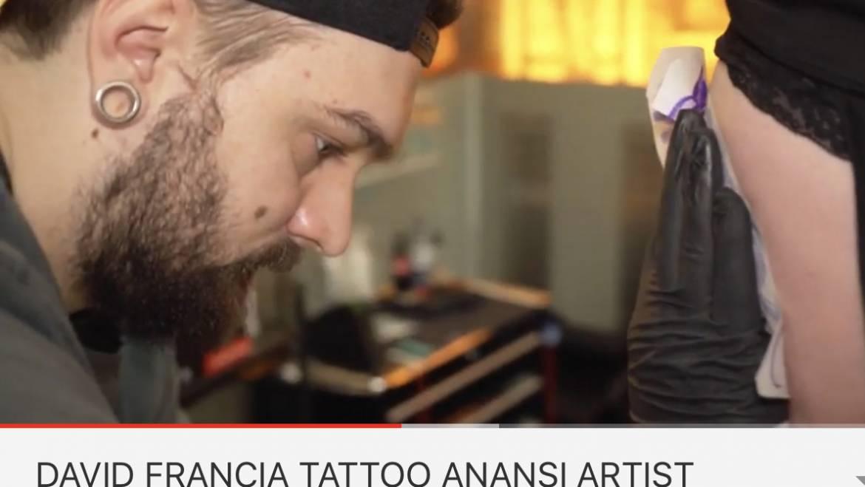 Davids kurze Video über Blackwork und warum er die Stilrichtung so gut findet