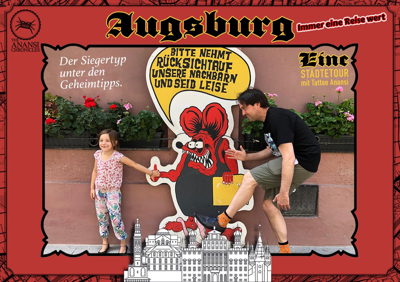 Augsburg – Immer eine Reise wert